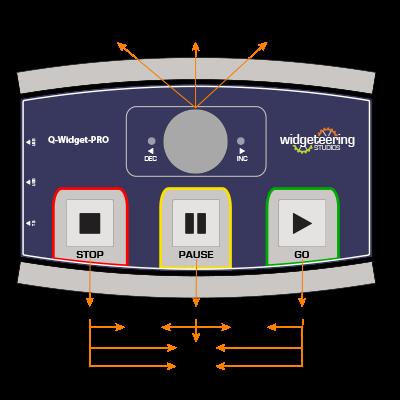 Q-Widget-PRO Midi Mode